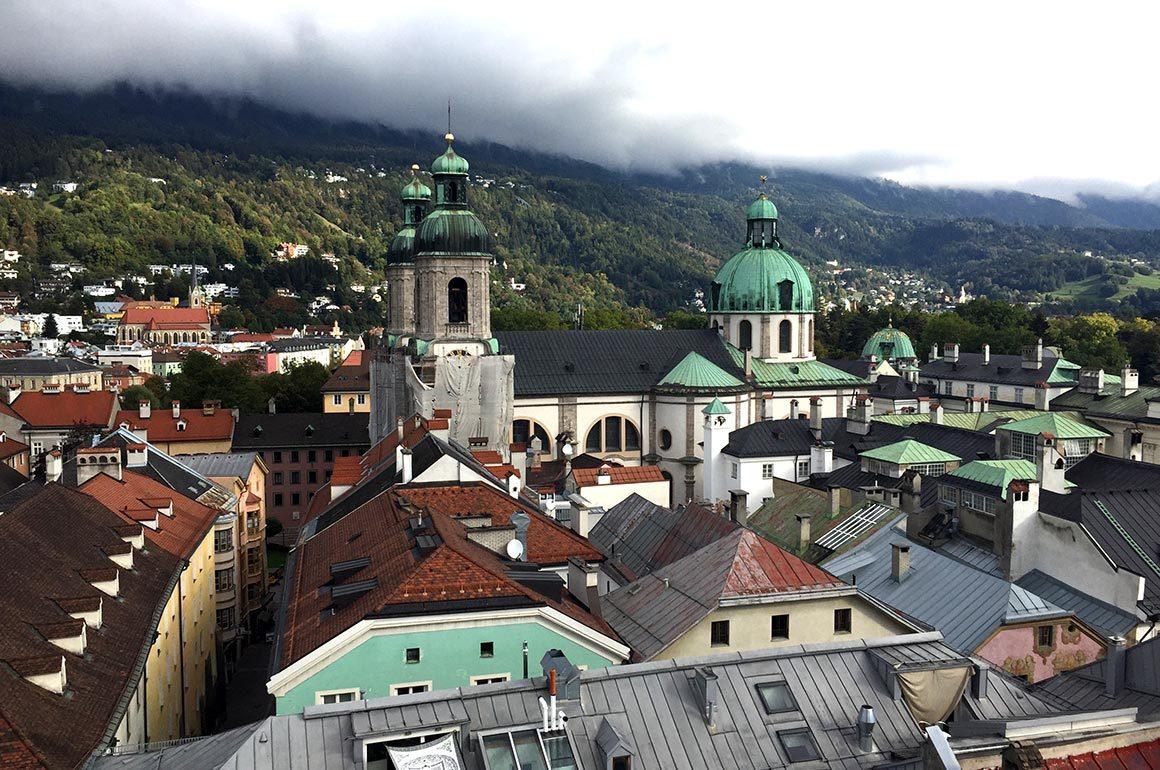 Uitzicht op de Altstadt