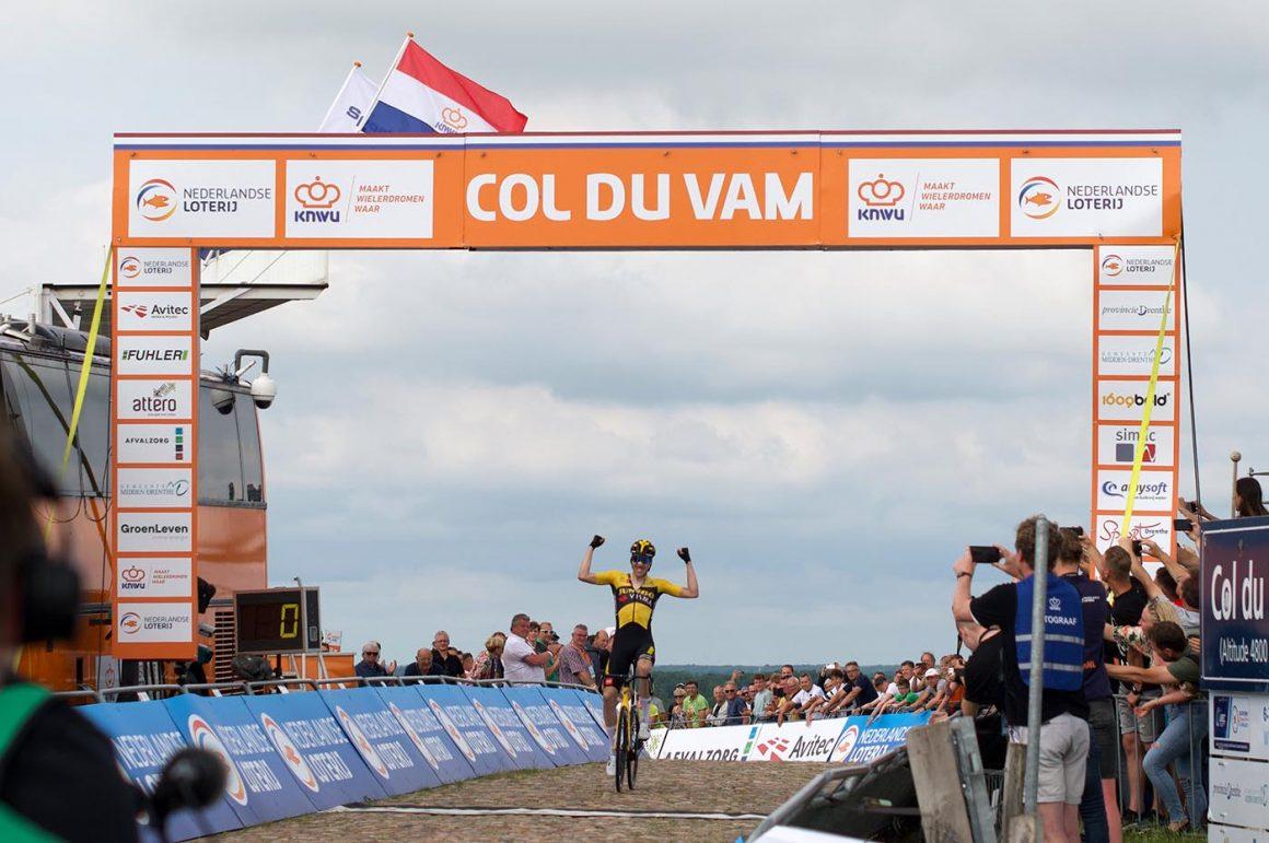 Timo Roosen wint het NK